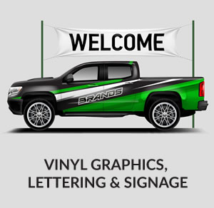 Vinyl Graphics, Lettering & Signage
